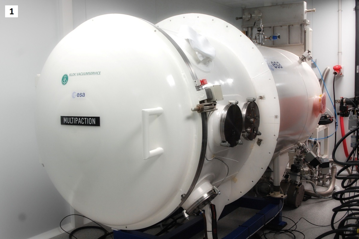 vacuum chamber1 high power radiofrequency laboratory Val Space