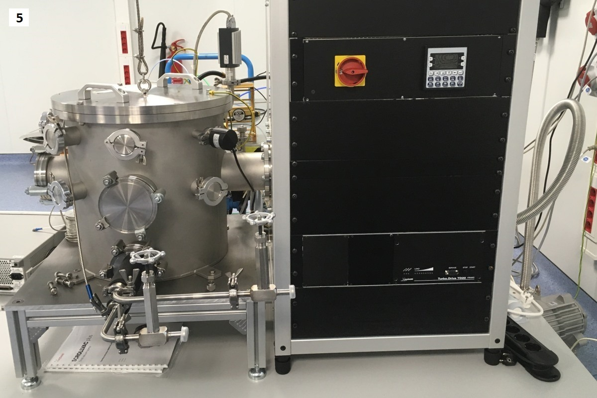 Vacuum chamber high power radiofrequency laboratory Val Space